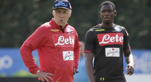 Sky - Allenamento one-to-one di Ancelotti con Diawara, il tecnico ha fatto due richieste al centrocampista