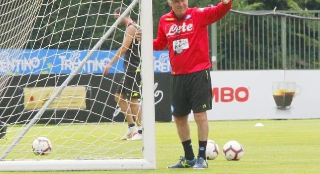 Carlo Ancelotti a Dimaro