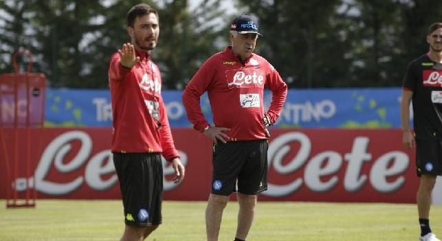 Ancelotti sul figlio: Davide è molto bravo, ha avuto il culo di lavorare al Real Madrid e al PSG