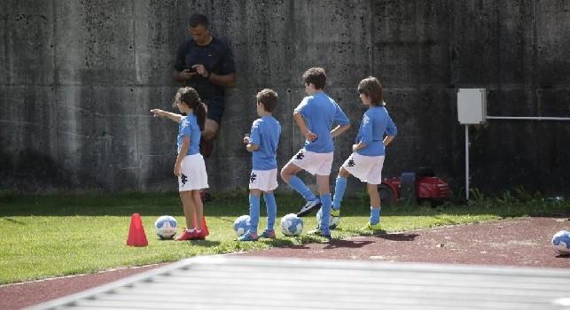 Bambini sul campo di gioco di Carciato a Dimaro-Folgarida, foto: Ciro De Luca