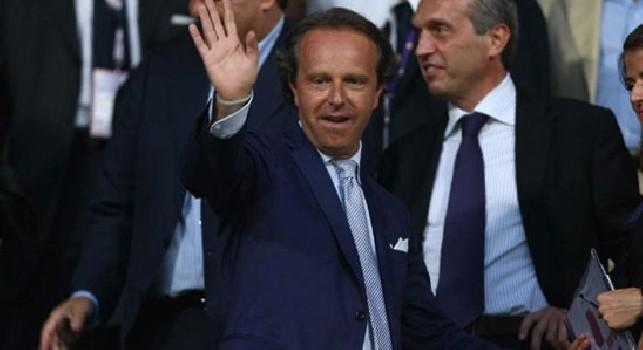 Fiorentina, Della Valle e Cognini raggiungeranno la squadra a breve: saranno presenti allo stadio contro il Napoli