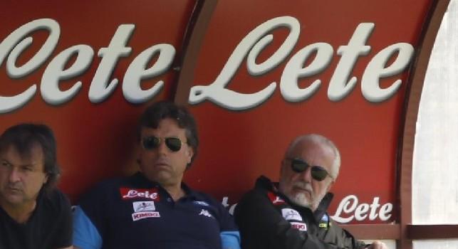 Da Bari - De Laurentiis potrebbe delegare Giuntoli per il ruolo di direttore sportivo del club pugliese