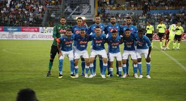 Napoli-Carpi, cinque cambi per Ancelotti: entrano Verdi e Callejon, Insigne falso nueve e Allan terzino!