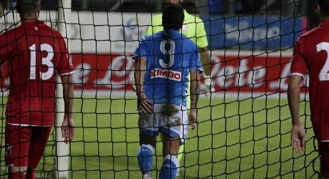 Verdi firma anche Napoli-Carpi! E' 4-0 al Briamasco, 'facile-facile' segnare sul servizio di Callejon [FOTOSEQUENZA CN24]