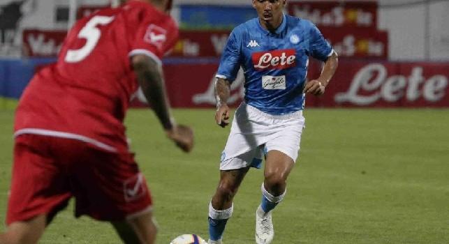 Allan esulta: Buona la prima, forza Napoli sempre