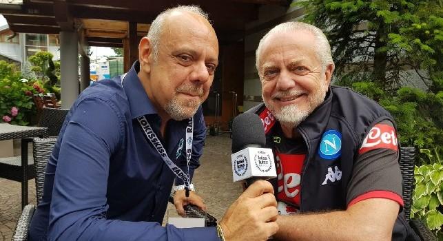 De Laurentiis: Cavani al Napoli per 55 milioni? Falso, questa è una super bufala. Proposto Andrè Silva? Falso