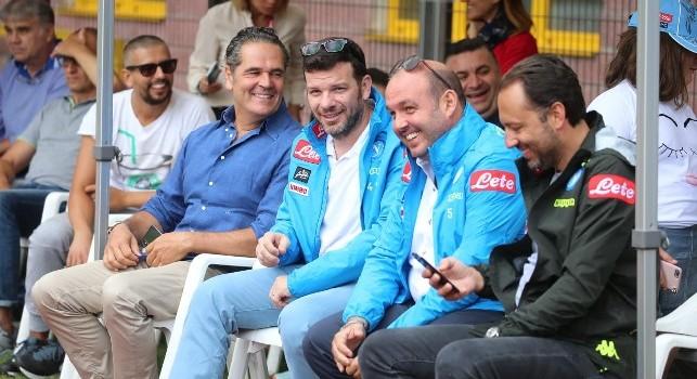 Partnership SSC Napoli-Amazon, a Dimaro arriva il vice-presidente Grandinetti