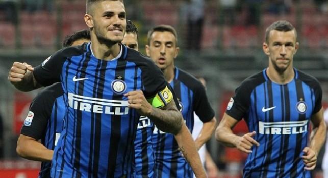 Inter, caso Icardi: l'attaccante è ad Appiano Gentile per l'allenamento mattutino