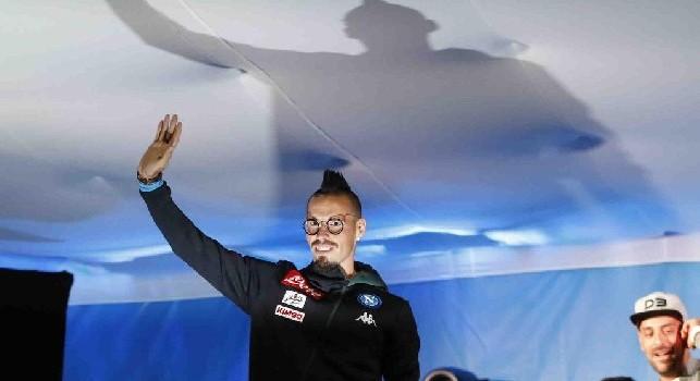 Presentazione SSC Napoli, standing ovation per Insigne e Hamsik! Annuncio da brividi di 'Decibel' per Marek [VIDEO CN24]