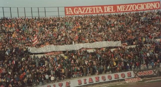 "Striscione barese allo stadio San Nicola: ""Terroni sì, napoletani no!"""