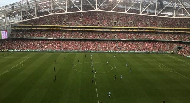 RILEGGI DIRETTA - Liverpool-Napoli 5-0 (4' Milner, 9' Wijnaldum, 58' Salah, 73' Sturridge, 77' Moreno): figuraccia azzurra a Dublino, Karnezis da horror!