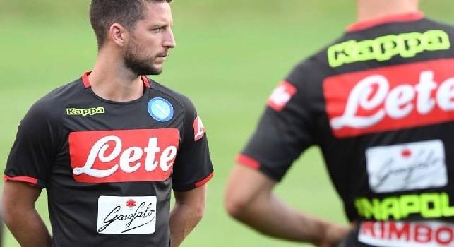 Mertens su Instagram: Facciamo che questa stagione sia fantastica, onorato di vestire la maglia del Napoli