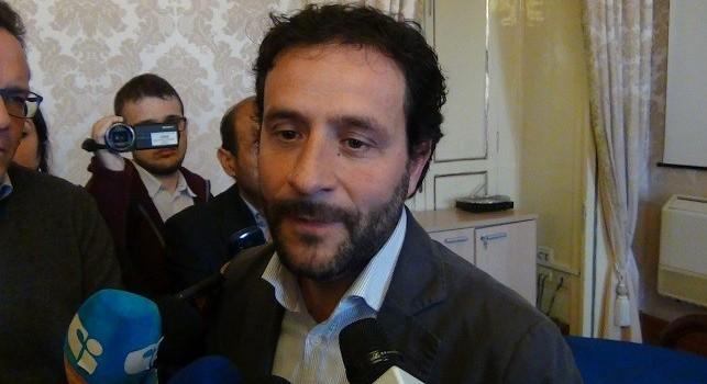 L'assessore allo sport del Comune di Napoli Ciro Borriello