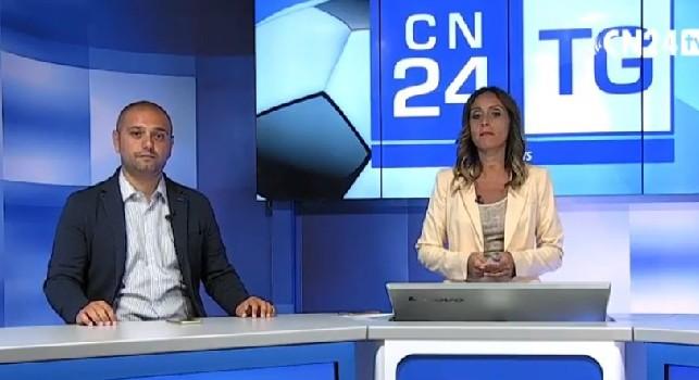 TG24 su CalcioNapoli24 TV, tanti gli argomenti trattati: dal terzo portiere alla situazione di Inglese [VIDEO]