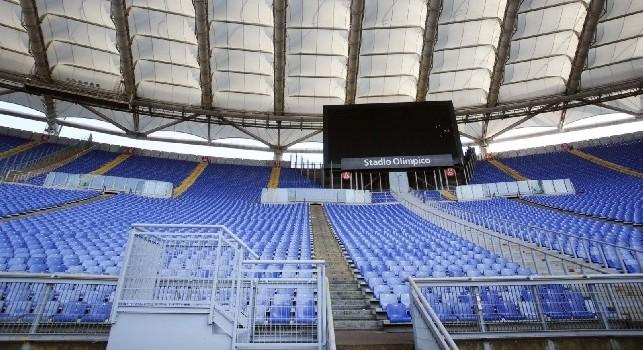 Rivoluzione all'Olimpico: pronti i 'palchi lancia cori per gli Ultras', le istituzioni vogliono evitare un Ciro Esposito 2.0 [FOTO]