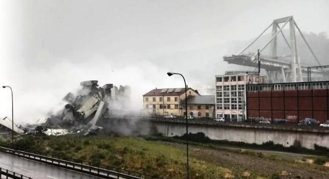 TMW - Sampdoria, richiesta di rinvio della gara contro la Fiorentina per la tragedia del Ponte Morandi