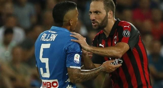 Europa League: Betis Milan, non c'è Higuain
