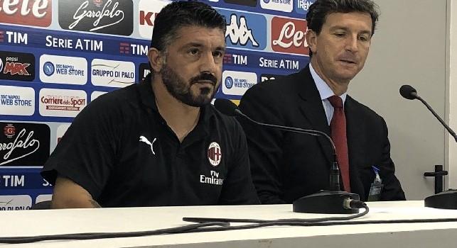 Gattuso come Sarri: Assurdo giocare il giovedì in Europa e la domenica alla mezza in campionato