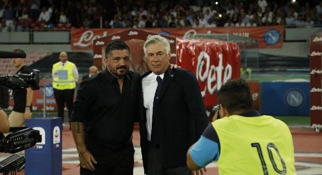 Gattuso e Ancelotti