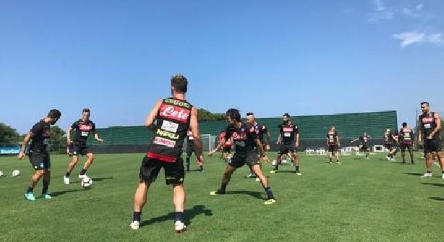 SSC Napoli, giovedì riprenderanno gli allenamenti in vista del match contro il Cagliari