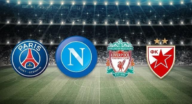 Champions League 2018/19, il calendario completo: esordio Napoli in Serbia, ecco le date con Psg e Liverpool!
