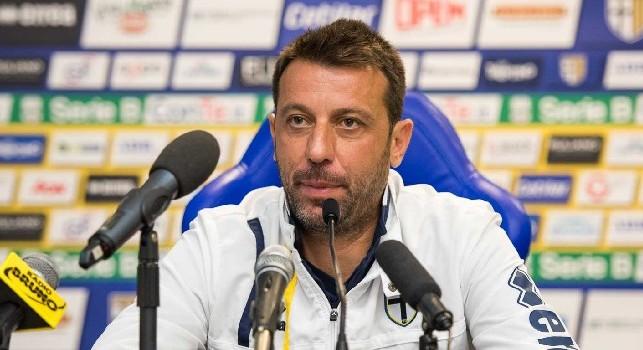 Parma, D'Aversa: Punti contro il Napoli? Nella vita nulla è impossibile, ma non sarà facile. Ci saranno novità di formazione