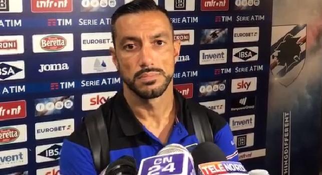 Quagliarella: Io capocannoniere inaspettato: al Napoli il gol più bello. Fossi Mancini mi convocherei...