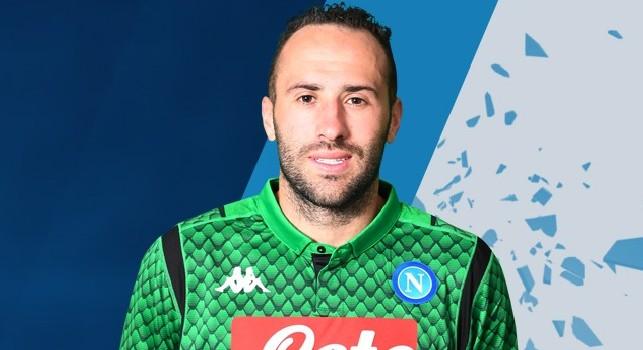 David Ospina, portiere del Napoli