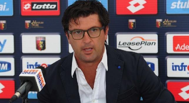 Omar Milanetto, ex calciatore del Genoa