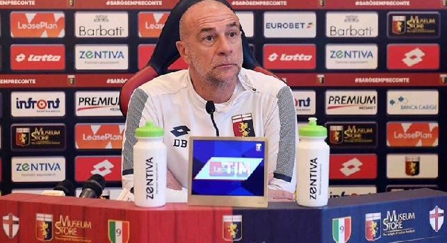 Ballardini: Nessun contatto con il Napoli purtroppo, sorpreso dal rendimento di Di Lorenzo