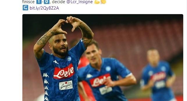 La UEFA celebra la vittoria del Napoli: La Fiorentina si inchina alla squadra di Ancelotti [FOTO]