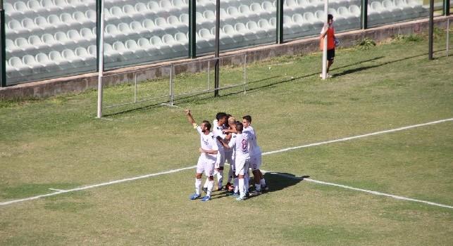 Bari, vittoria anche contro la Palmese: è +6 sulla Turris, resiste l'imbattibilità dell'azzurro Marfella