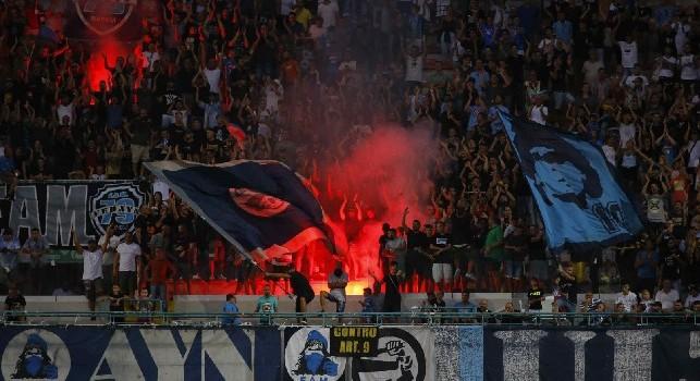 Stella Rossa-Napoli, i supporter azzurri saranno meno di 800: i dettagli