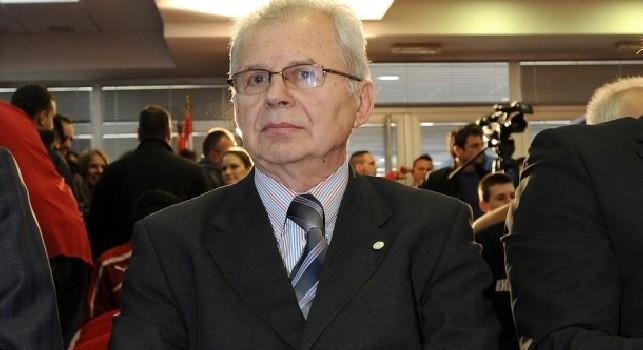 Stella Rossa, il presidente: Napoli avversario forte, al San Paolo atmosfera fantastica. Scommesse? Proteggiamo il nostro orgoglio e su Ancelotti...