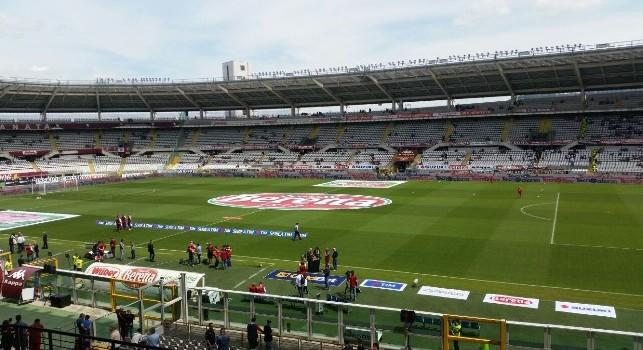 Torino-Napoli, stadio Grande Torino