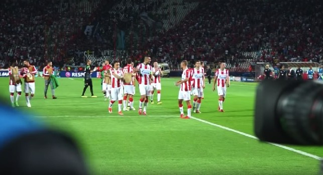 Il Mattino - Scandalo Champions, può succedere di tutto: la Stella Rossa rischia l'esclusione, la UEFA può usare il pugno duro