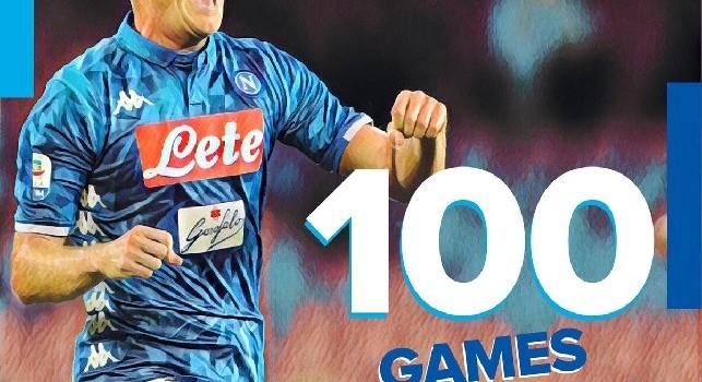 La SSC Napoli celebra Zielinski: Piotr ha raggiunto le 100 presenze in azzurro [FOTO]