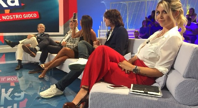 Wanda Icardi: Non capisco perché prendano in giro Ancelotti ed Allegri, sono due uomini di classe!