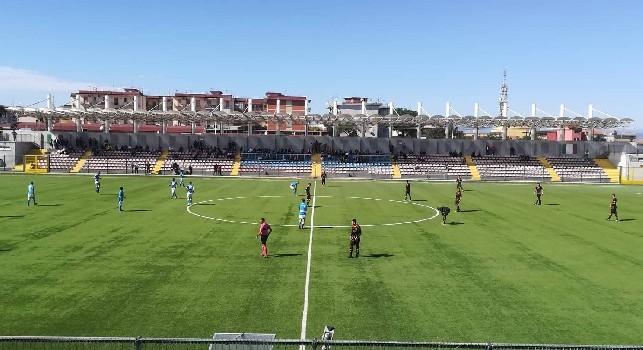 Coppa Italia Primavera, Napoli-Benevento 3-0 (10'sts Sgarbi, 12'sts Mezzoni, 15'sts Guadagni): tris vincente degli azzurri! Passato il turno, Benevento battuto