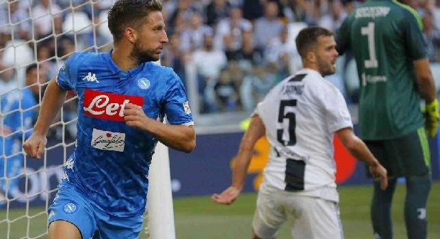RILEGGI DIRETTA - Juventus-Napoli 3-1 (10' Mertens, 26', 49' Mandzukic, 76' Bonucci): Dries illude, Ronaldo ispira il tris juventino. Banti discutibile, i bianconeri scappano a +6