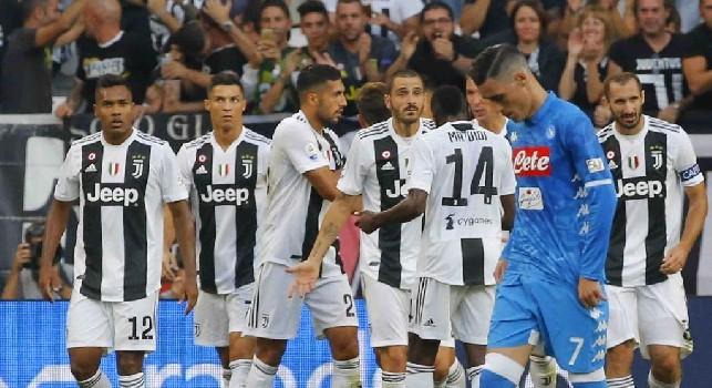 Josè Maria Callejon in Juventus-Napoli