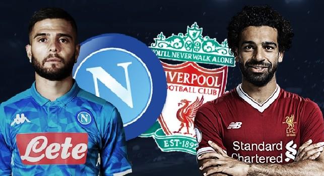 Napoli - Liverpool, Insigne contro Salah
