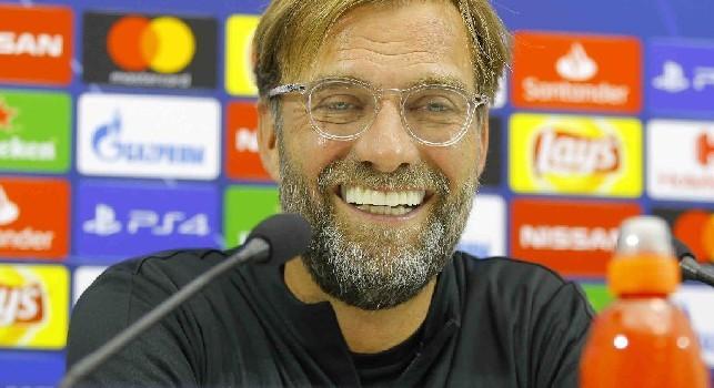 Klopp in conferenza: Napoli squadra testarda, temo l'effetto San Paolo! Insigne mi ride in faccia quando mi vede, accetterei un pari a determinate condizioni