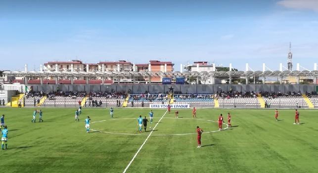 Youth League, Napoli-Liverpool 1-1 (27' Adekanye, 94' Gaetano): pareggio azzurro allo scadere, esplode lo Ianniello!