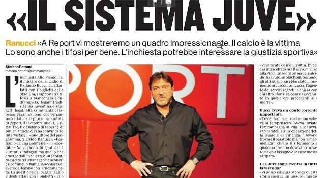 Inchiesta Report sulla Juventus