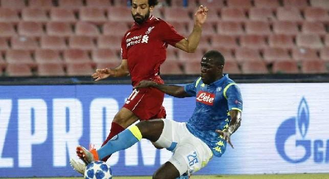 Gazzetta - Champions League, da Liverpool non arriva una bella notizia per il Napoli