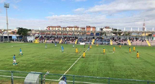 Primavera, Napoli-Roma 0-4 (7' Pezzella, 12' e 27' Celar, 70' Perini aut.): dominio giallorosso, prima sconfitta per gli azzurri