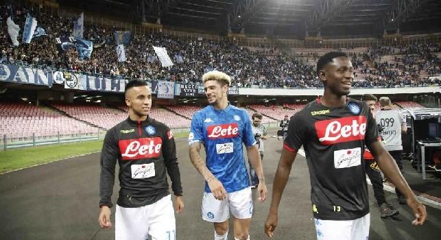 SSC Napoli su Twitter: Allenamento iniziato. Malcuit ed Ounas fanno i <i>torelli</i> [VIDEO]