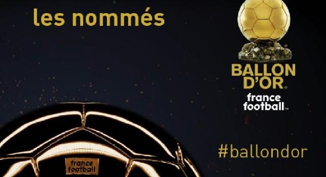 """Pallone d'Oro 2018, la lista """"Ballon d'Or"""" di France Football"""