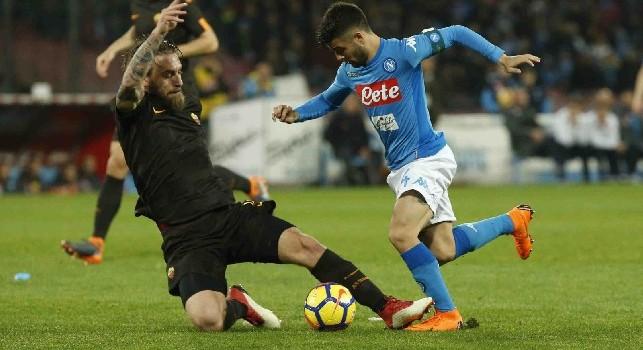 Sky - De Rossi salta la sfida contro la SPAL ma sarà recuperato per la gara di Champions contro il CSKA: buone probabilità di vederlo contro il Napoli